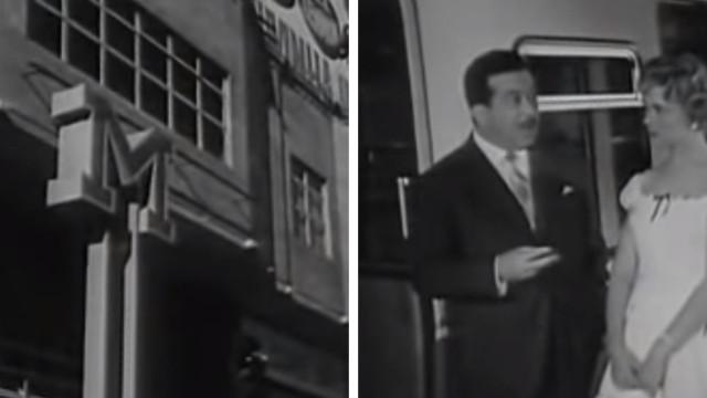 A primeira viagem do Metro de Lisboa foi em 1959. Já viu as imagens?