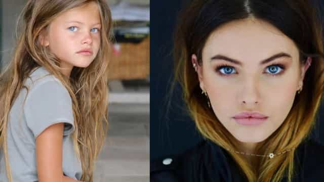 Eleita a 'Mais bonita do mundo' aos 6 anos volta a repetir proeza aos 17