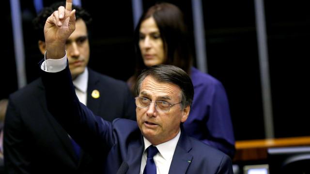 """""""O Brasil voltará a ser um país livre"""". O primeiro discurso de Bolsonaro"""