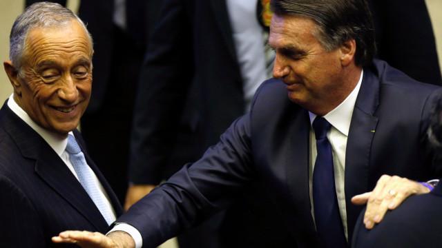 """Marcelo vai defender """"empenho brasileiro"""" na CPLP junto de Bolsonaro"""
