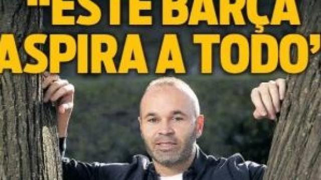 Lá por fora: As recordações de Iniesta e o 'perigo' para o Real Madrid
