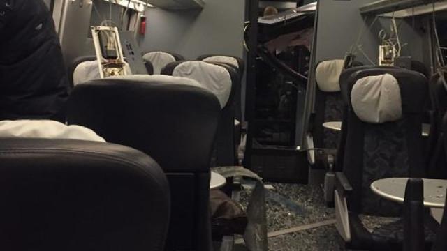 Acidente de comboio na Dinamarca faz vários mortos