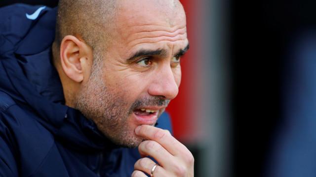 Guardiola coloca Manchester United na luta pelo título