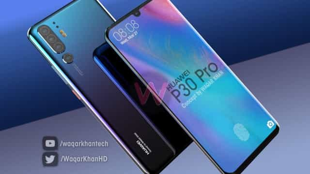 'Concept' do P30 Pro revela o aspeto mais provável do topo de gama