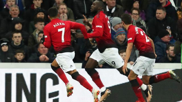 Mais uma vitória. Manchester United só sabe vencer no pós-Mourinho