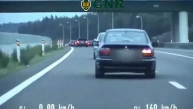 Vídeo da GNR mostra manobras perigosas nas estradas portuguesas