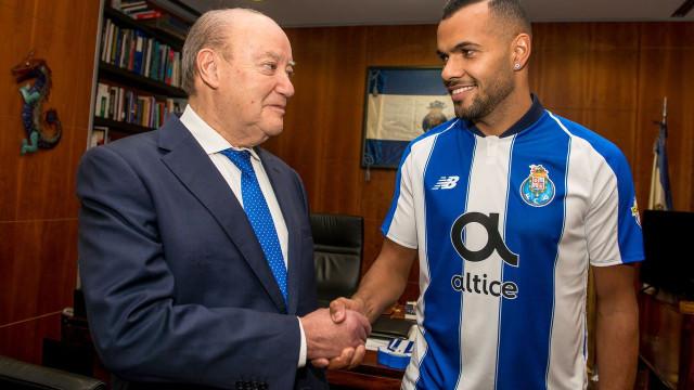 """""""Desde que cheguei a Portugal que a minha vontade era jogar no FC Porto"""""""