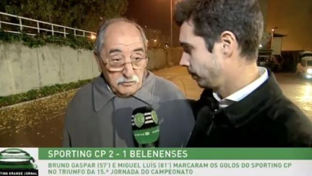 "Internet rendida ao avô de Miguel Luís: ""Vieram-me as lágrimas aos olhos"""