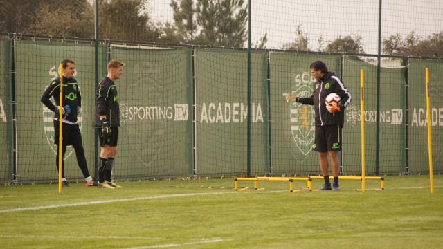 Stojkovic 'promovido' no regresso do Sporting aos treinos
