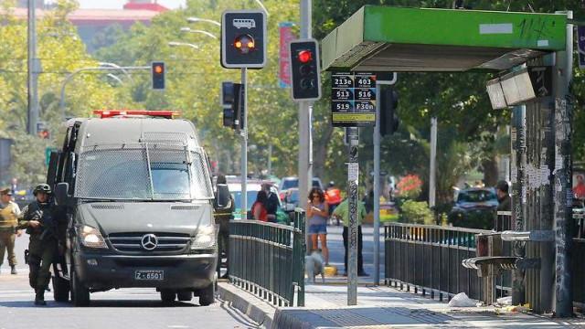Suspeita de terrorismo após explosão em paragem de autocarro no Chile