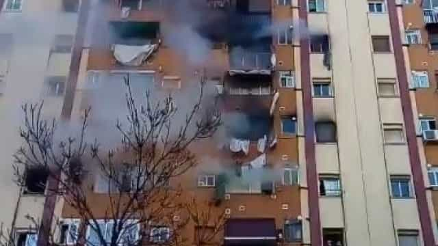 Seis detidos após incêndio que matou três pessoas em Barcelona