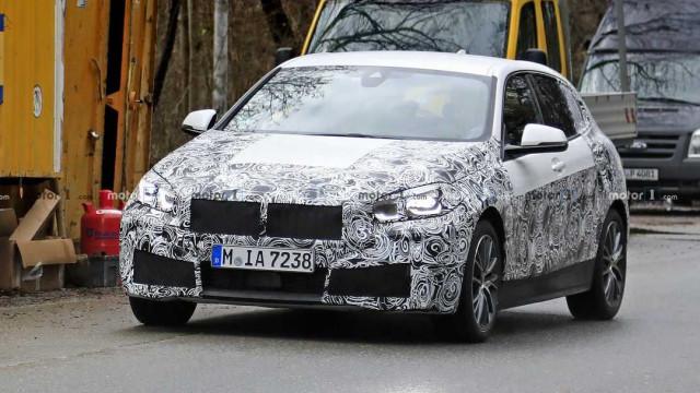 Fuga de imagens: Faróis do novo BMW Série 1 já foram vistos