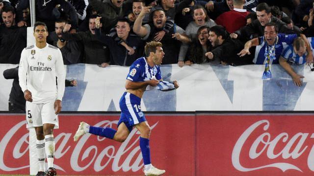 Alavés ultrapassa Real Madrid e sobe ao quarto lugar da liga espanhola