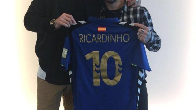 """Ramos rende-se a Ricardinho: """"O jogador com mais Bolas de Ouro"""""""