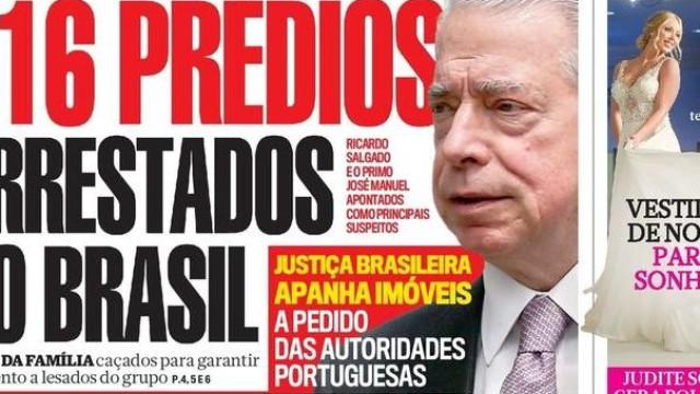 Hoje é notícia: Prédios de Salgado arrestados e Imigrantes no futebol