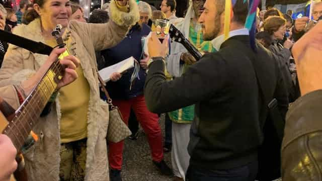 Ainda longe do filho, Dolores Aveiro celebra Dia de Reis