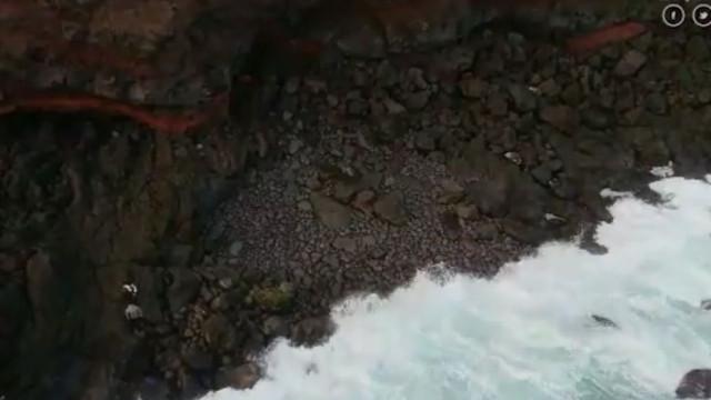 As imagens que mostram resgate de tio e sobrinho desaparecidos nos Açores