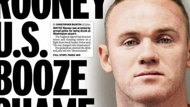 Imprensa internacional: O desastre Real e Rooney em 'maus lençóis'
