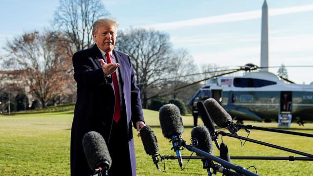 Do lado americano do muro de Trump opiniões dividem-se sobre migrantes