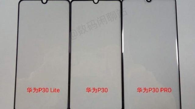 Aí estão eles. Veja os três novos smartphones da Huawei