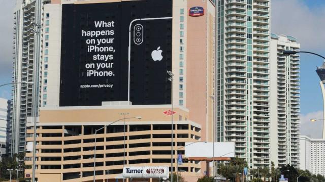 Apple aproveita evento de tecnologia para lançar 'farpa' às rivais