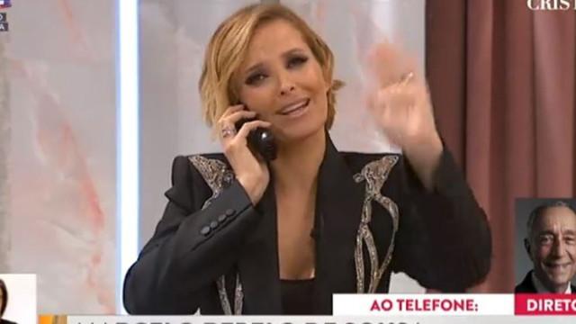 "Presidente Marcelo justifica telefonema a Cristina. ""Era o mínimo"""