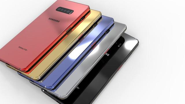 Designer inspira-se em rumores para criar a sua versões do Galaxy S10