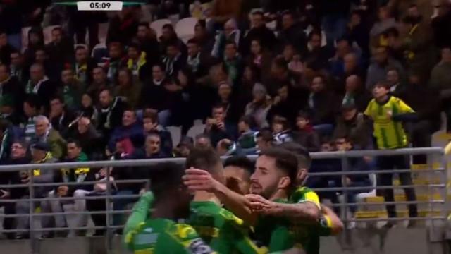 Delgado colocou o Sporting em desvantagem logo aos cinco minutos