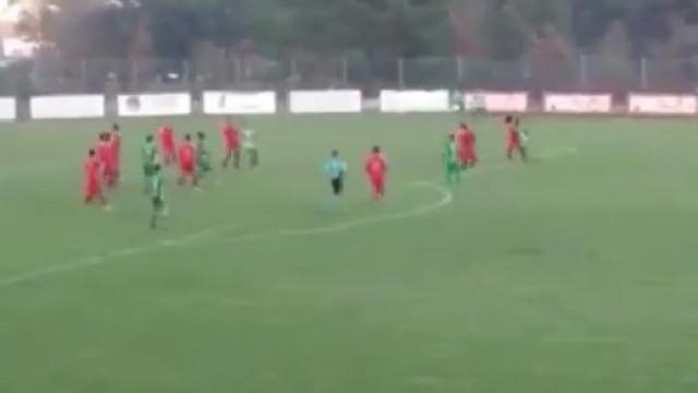 Aldair Ferreira marca golaço no Campeonato de Portugal