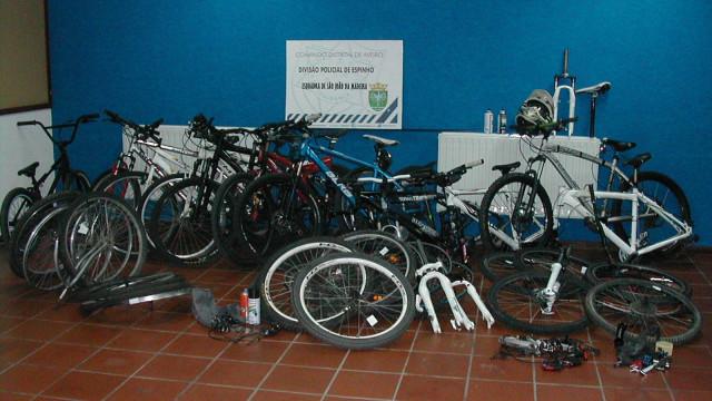 PSP recupera oito bicicletas furtadas em São João da Madeira