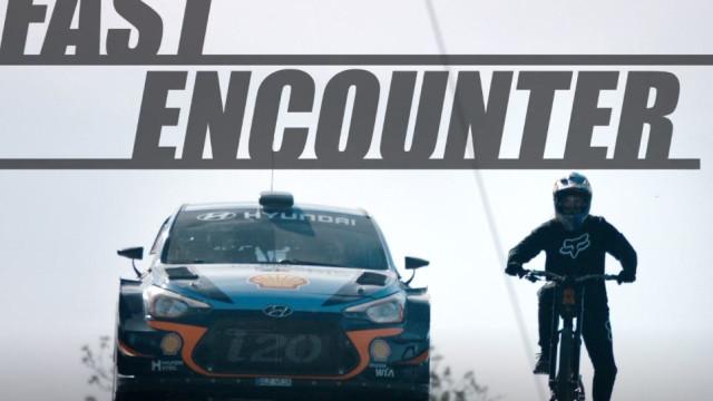 Um WRC contra uma BTT: Desigual? Surpreenda-se