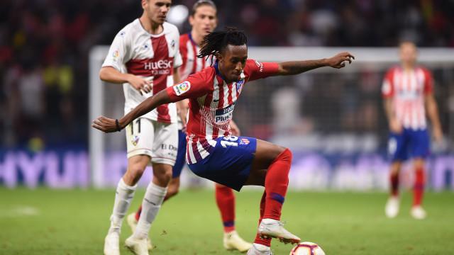 COPE: Gelson Martins pode deixar o Atlético de Madrid já em janeiro