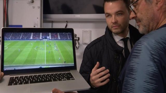 Sarri viu imagem alternativa no portátil e arrasou VAR