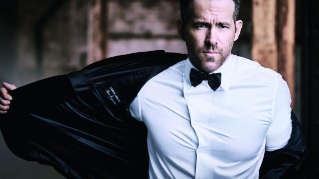 Ryan Reynolds é o novo embaixador do perfume Armani Code