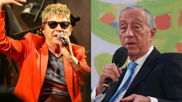 Drama com o cancro: Roberto Leal recebe mensagem pública do Presidente