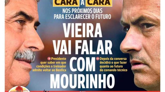 Por cá: A conversa com Mourinho, Militão blindado e o plano de Varandas