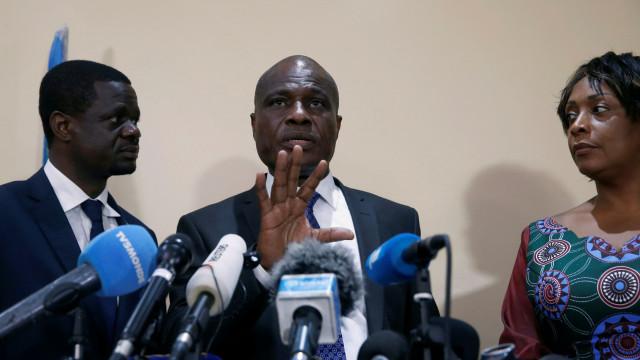 Candidato da oposição Martin Fayulu denuncia fraude eleitoral no Congo