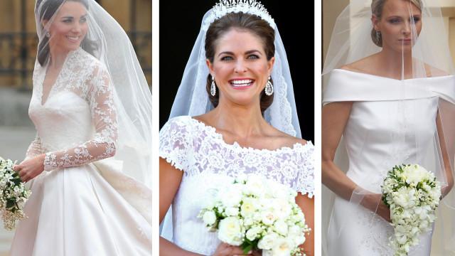 Realeza: Quem foi a noiva mais elegante?