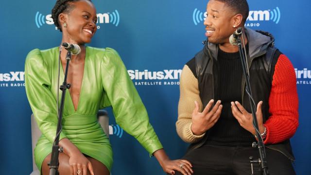 Michael B. Jordan esclarece rumores de namoro com Lupita Nyong'o