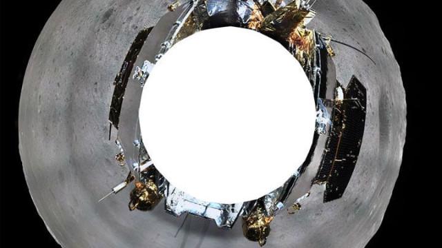 Sonda chinesa partilha fotografia de 360 graus do lado oculto da Lua