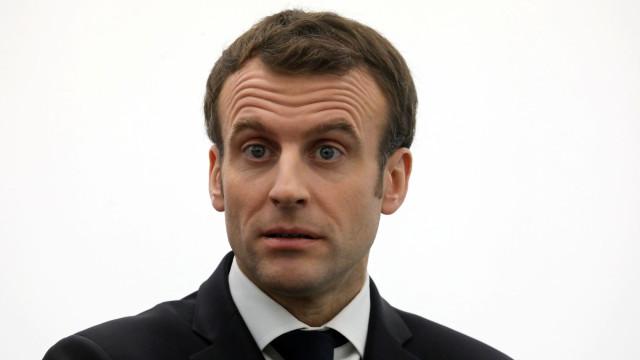 Macron anuncia que não irá ao Fórum Económico Mundial de Davos