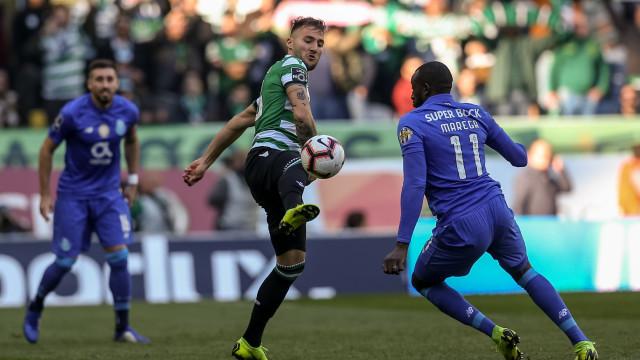 Sporting-FC Porto: Fique com as melhores imagens do Clássico