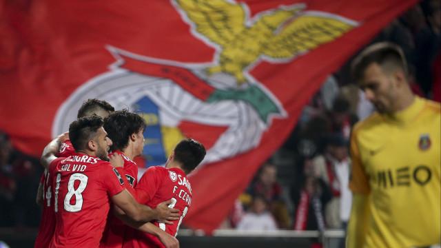 Numa Liga a quatro, o Benfica está (confortavelmente) sentado no trono