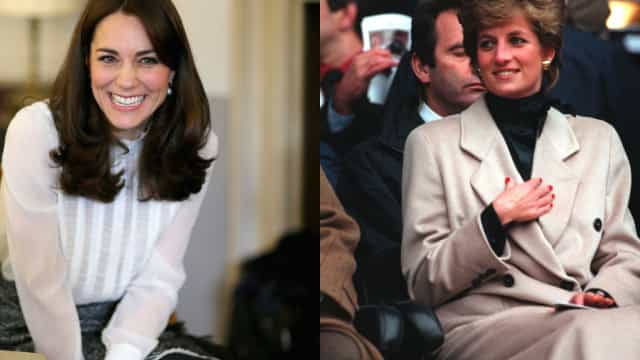 Kate Middleton tem recebido coisas que Diana sempre quis (e nunca teve)