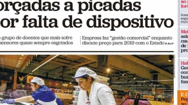 Hoje é notícia: Cortes na ADSE; Crianças diabéticas forçadas a picadas