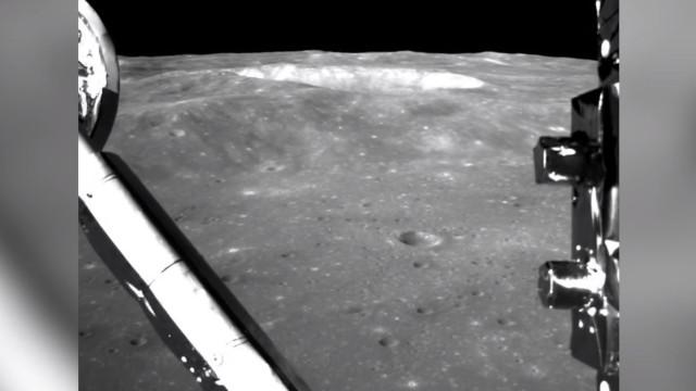 China revela vídeo da aterragem no lado oculto da Lua