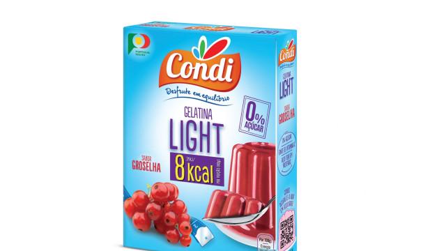Gelatina Light Groselha: Um novo sabor com 0% Açúcar