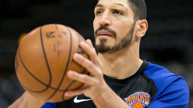 Turquia quer apoio da Interpol na detenção da estrela da NBA Enes Kanter