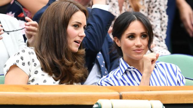 Porque é que Kate Middleton não foi ao chá de bebé de Meghan Markle?