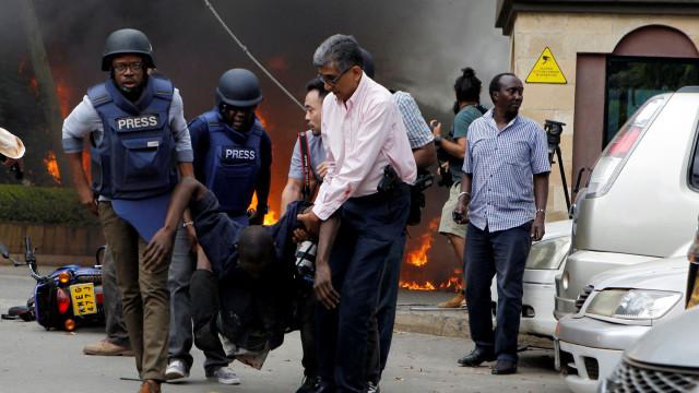 """Hotel no Quénia foi atacado por """"bombista suicida"""""""